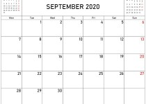 september and october 2020 calendar