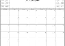 calendario octubre noviembre diciembre 2020