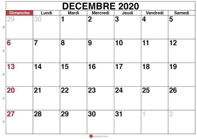 calendrier decembre 2020_modele 1