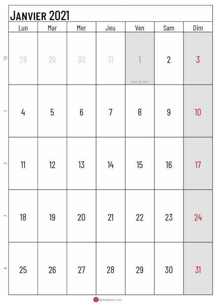 calendrier janvier 2021_portrait