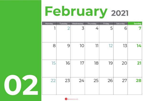 February days green