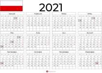 kalender 2021 thüringen querformat