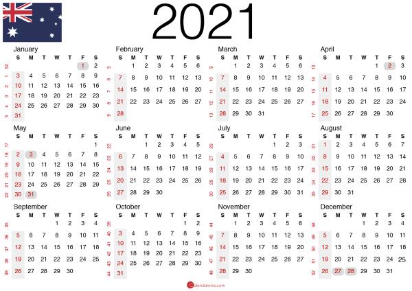 free printable calendar 2020 australia_landscape