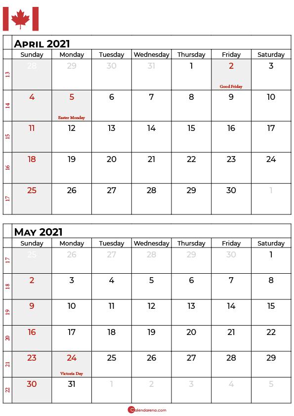 april may 2021 calendar_portrait