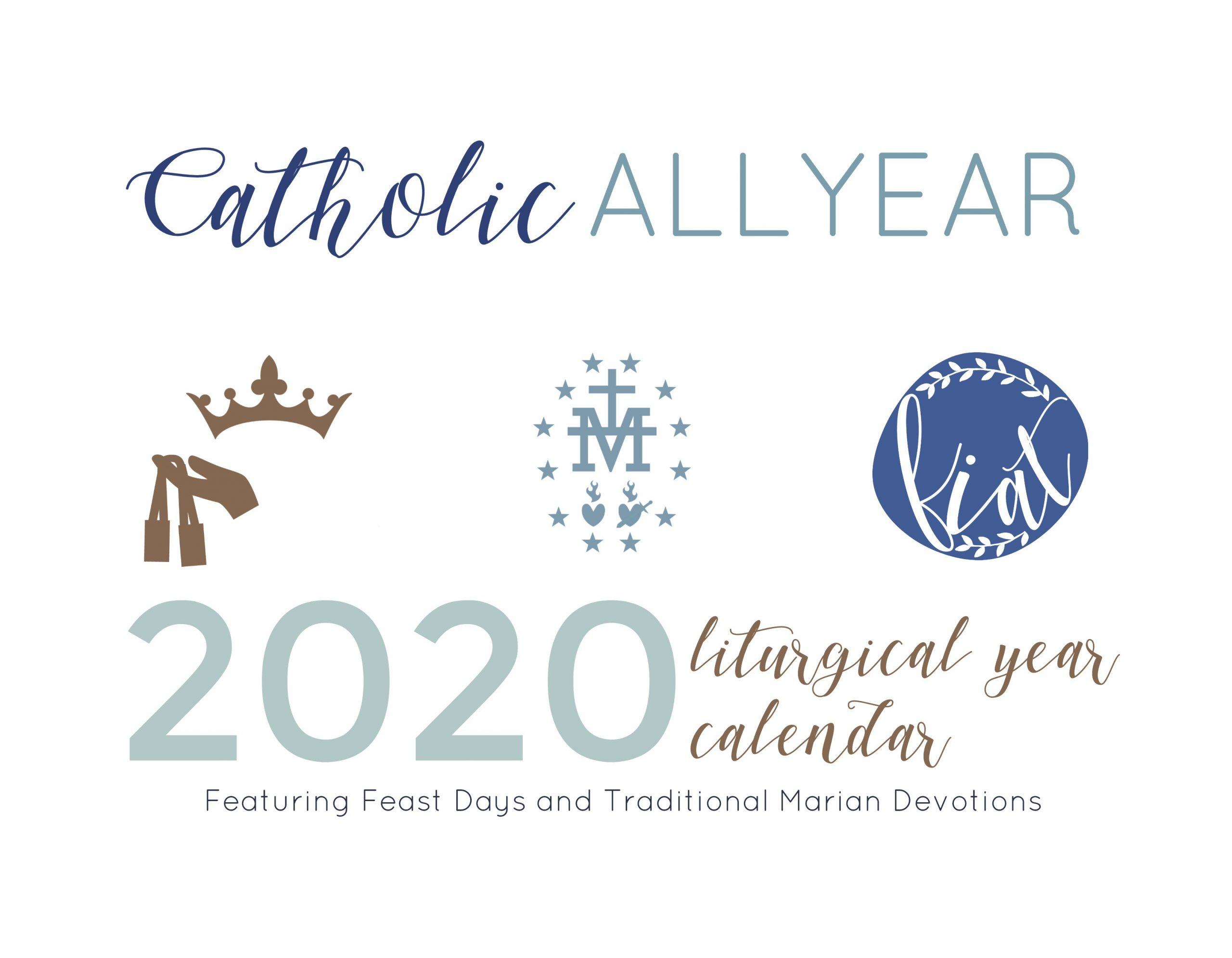 Catch Catholic Liturgical Calendar Printable