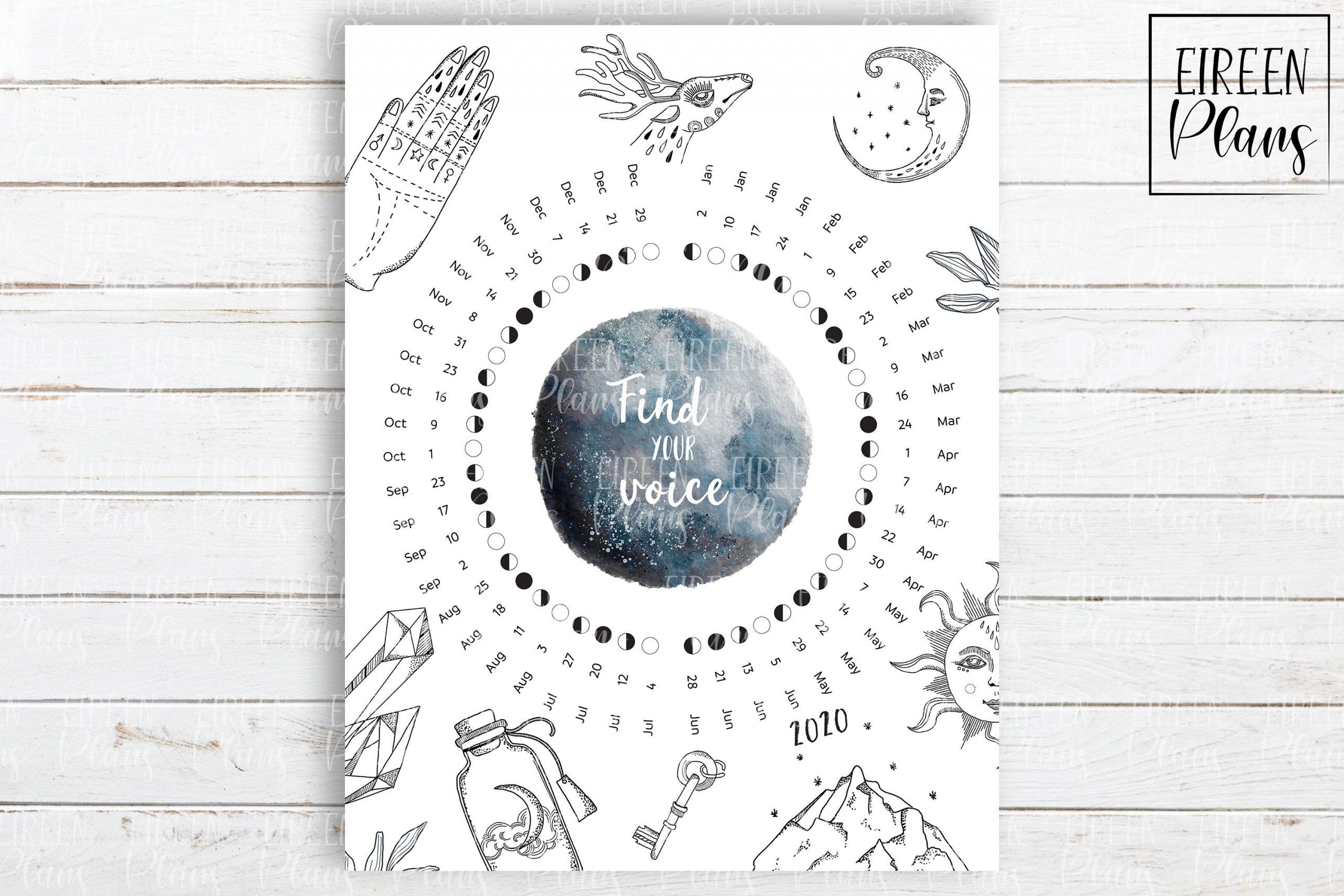 Take Full Moon Calendar Printable