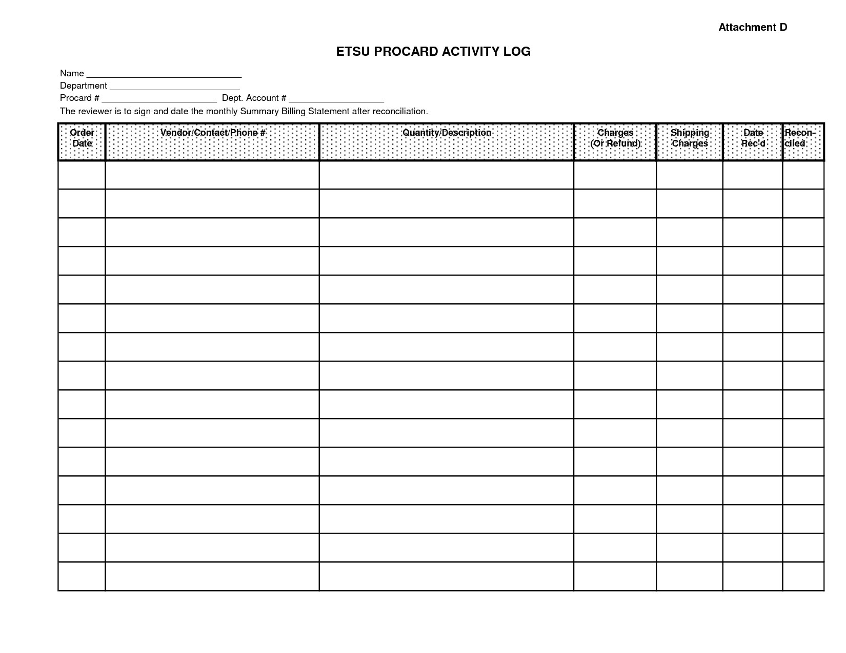 Printable Monthly Bill Payment Worksheet