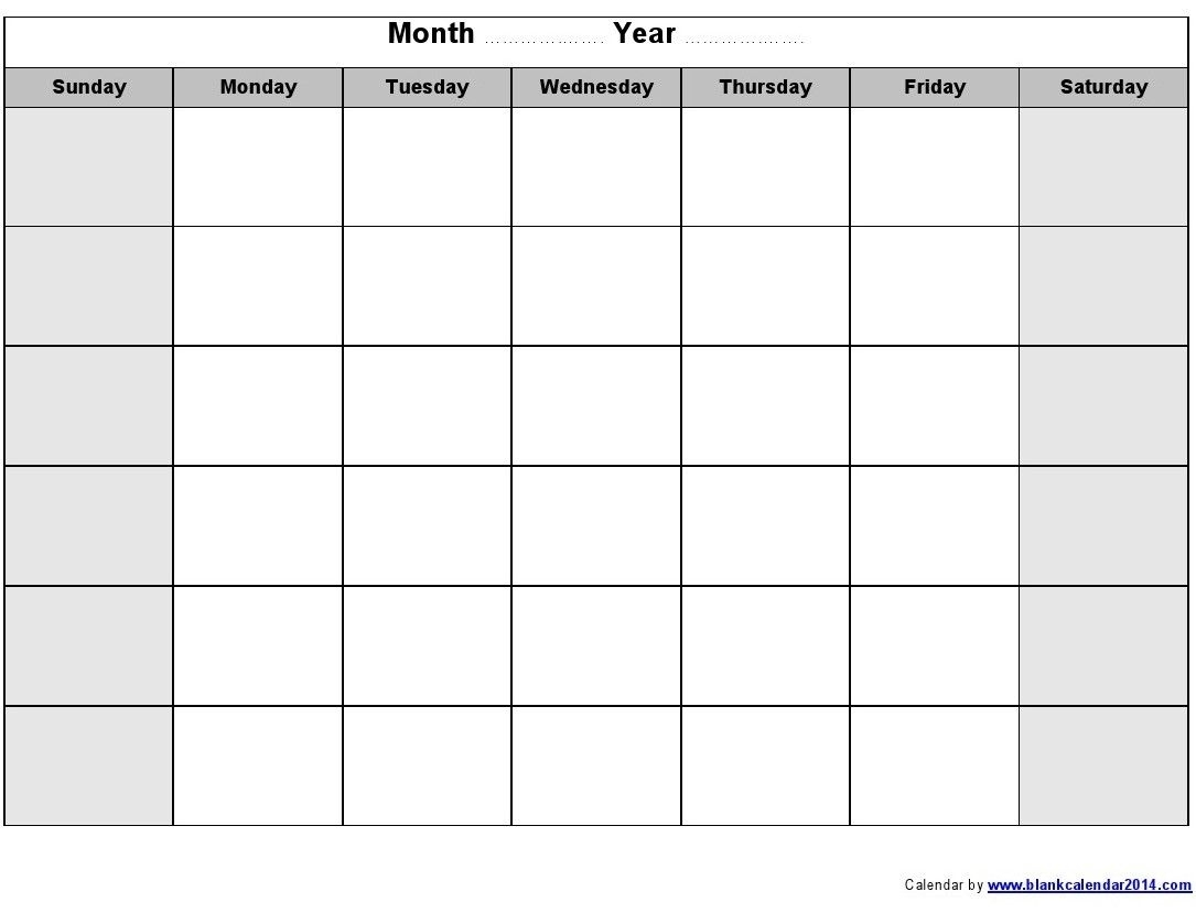 With and without the month names, multiple colors; Editable Printable Calendars By Month - Calendar ...