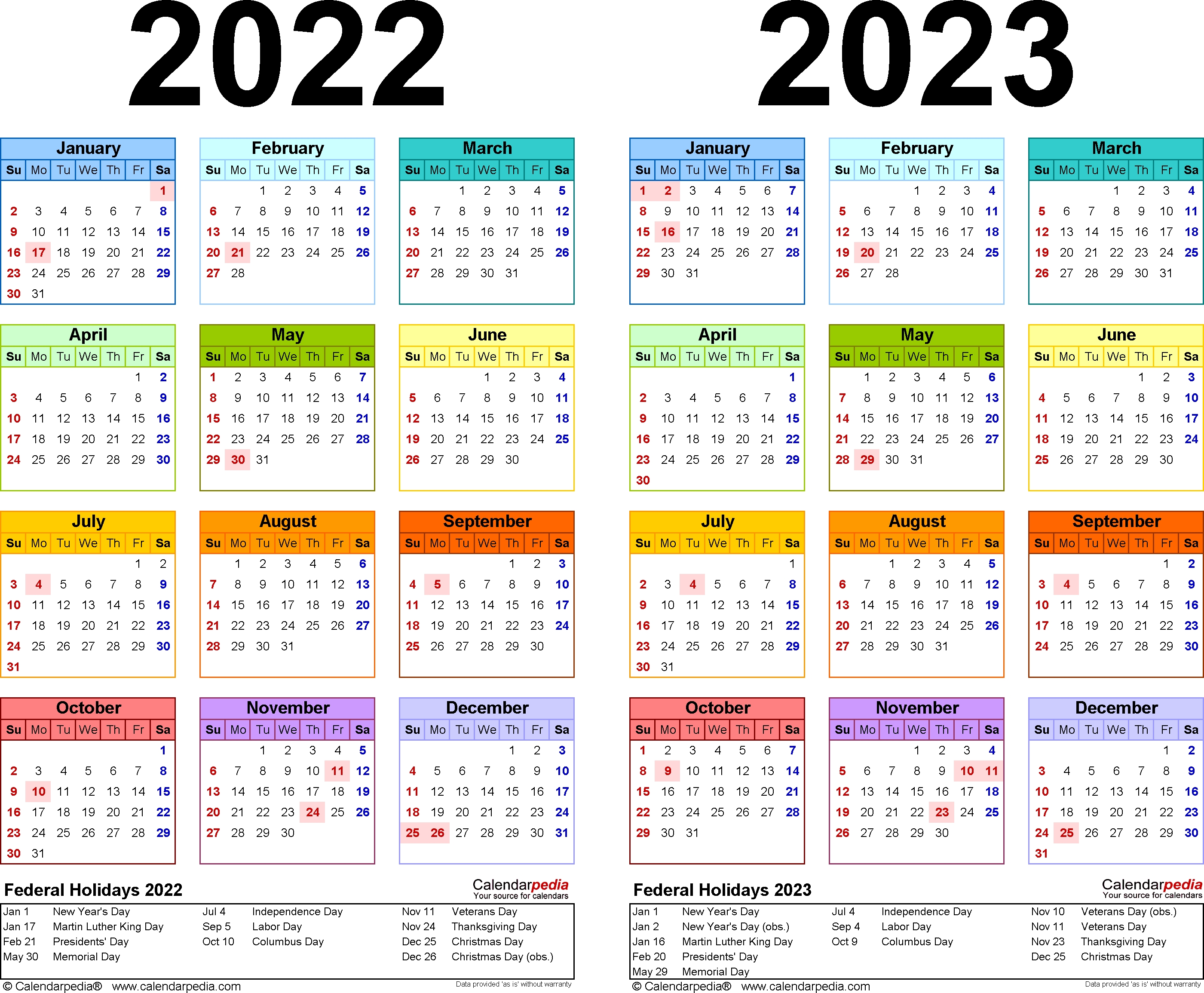 Download free printable 2022 calendar templates that you can easily edit and print. 3 Year Calendar 2022 To 2024 | Month Calendar Printable