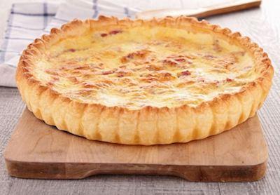 calendrier lunaire quiche à la tomate et au fromage blanc