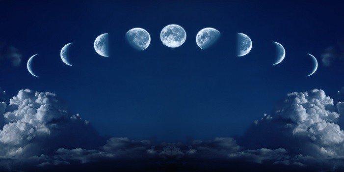 calendrier lunaire chaque phase de la lune