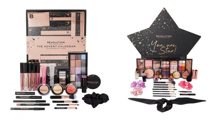 Calendrier de l'Avent beauté maquillage Revolution Beauty 2020 : avis, contenu, code promo