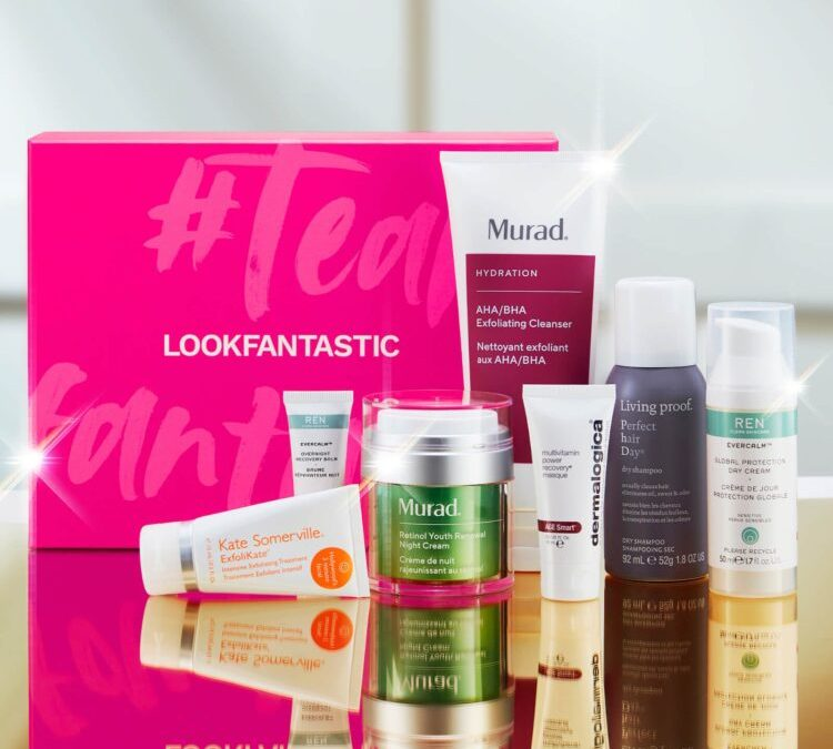 Lookfantastic Box Edition Limitée The Idol collection Unilever 2020