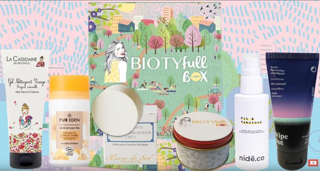 biotyfull box mars 2021 contenu et code promo