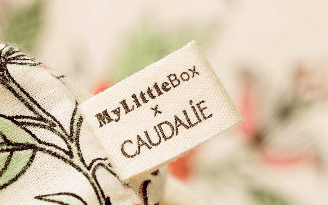 My little box mars 2021 CAUDALIE contenu et code promo