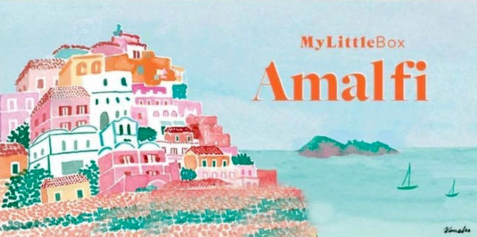 Spoiler my little box avril 2021 Amalfi contenu et code promo
