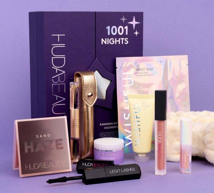 Calendrier Ramadan 2021 Huda Beauty 1001 nuits