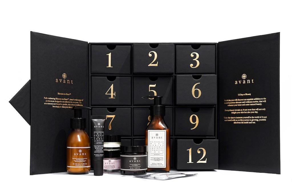Calendrier de l'Avent Beauté 2021 : Avant Skincare soins du visage haut de gamme , spoiler, contenu, code promo, unboxing