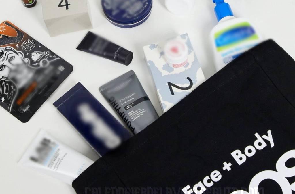 Calendrier de l'Avent Beauté pour Homme 2021 – Asos Grooming