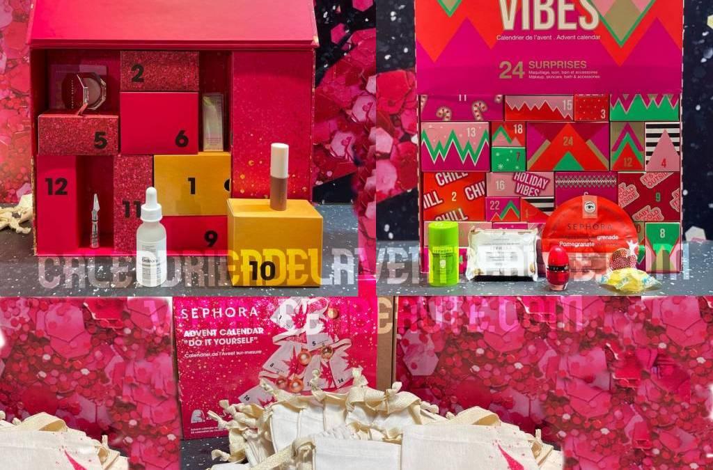 Calendrier de l'Avent Beauté SEPHORA 2021 : spoiler, contenu, code promo, unboxing