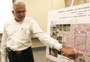 Forum Held on I-8/Imperial Ave Interchange Project