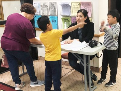 Calexico's Camarena Library Hosts Autism-Friendly Event