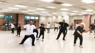 Tai Chi Popular Attraction at Community Center