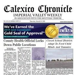 Calexico Chronicle e-Edition 3-19-20