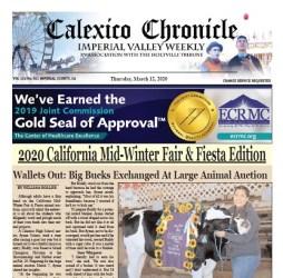 Calexico Chronicle e-Edition 3-12-20