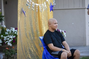 Birthday Parade Keeps Up Kid's Spirit in Cancer Fight