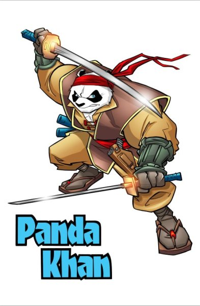 Holtville Duo Inks Deal for Panda Khan Cartoon