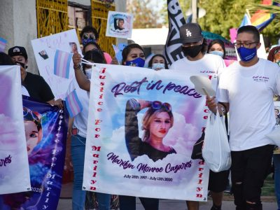March for Marilyn in Brawley Calls for Justice in Cazares Case