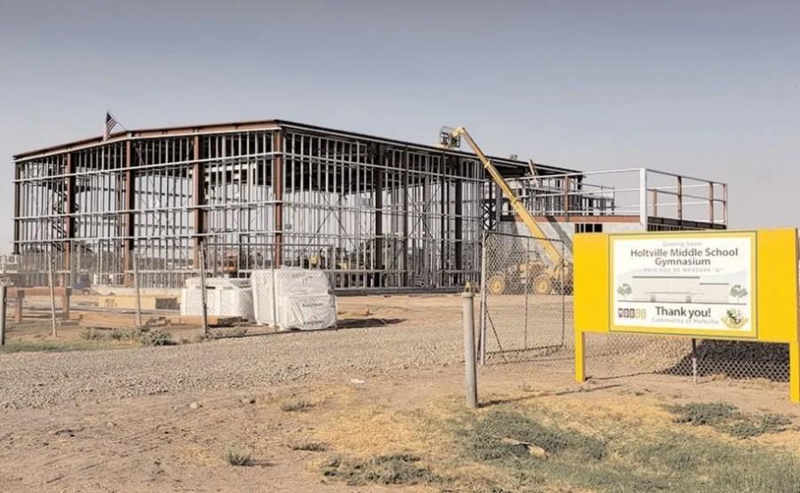 Measure G: Holtville School Upgrades Underway