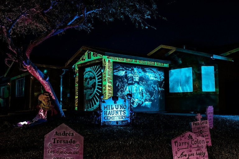 Halloween Homeowners Take Holiday to Next Level