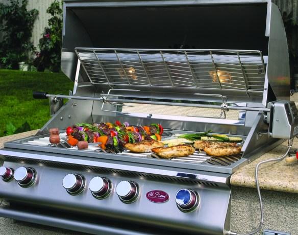 Premium 4 Burner Grill