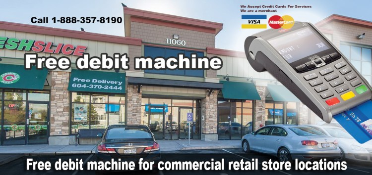 We Accept Credit Cards For Services. We are a merchant POS terminals Gets $300 $29.99 For the deskTop POS debit Machine $39.99 For Wireless Payment Processing Toronto You can buy DeskTop debit machine for $375 on your credit card. Or two payments of $250 You can buy Wireless debit machine for $475 on your credit card. Or two payments of $300