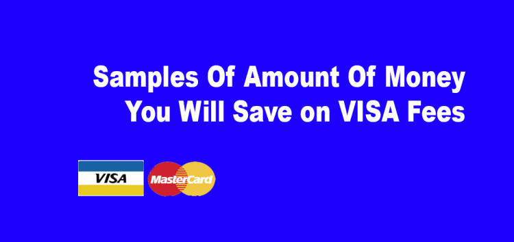 Samples Of Amount Of Money You Will Save on VISA Fees Visa MasterCard Rates canada Based on $10,000 - Based On $20,000, $50,000 As above our rates are1.19% Visa Our Non-Qual Surcharge is 0.04% There are no swipe fee--- or any other monthly hidden fees  Total Monthly Savings $70.00 Total Annual Savings $840.03 Savings Over 4 Years $3,360.12 ------------- Accept debit,Accept debit Ontario Canada,credit card processing,debitmachine Credit Card Processing,home business canada,Interac Ontario Canada,merchant account Ontario Canada,Non Qualified Cards,Ontario Canada credit card processing,Ontario Canada Debit Machine,Payment Processing Ontario Canada,POS terminals Ontario Canada,small business canada,small businesses,Visa MasterCard Rates canada