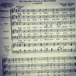 = vocal score