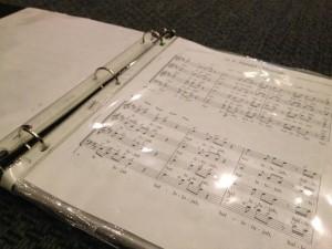 Choir Binder