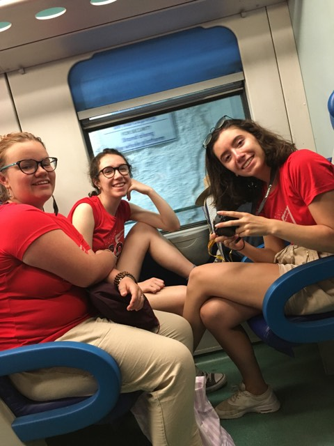 CCC on the train - Cinque Terre