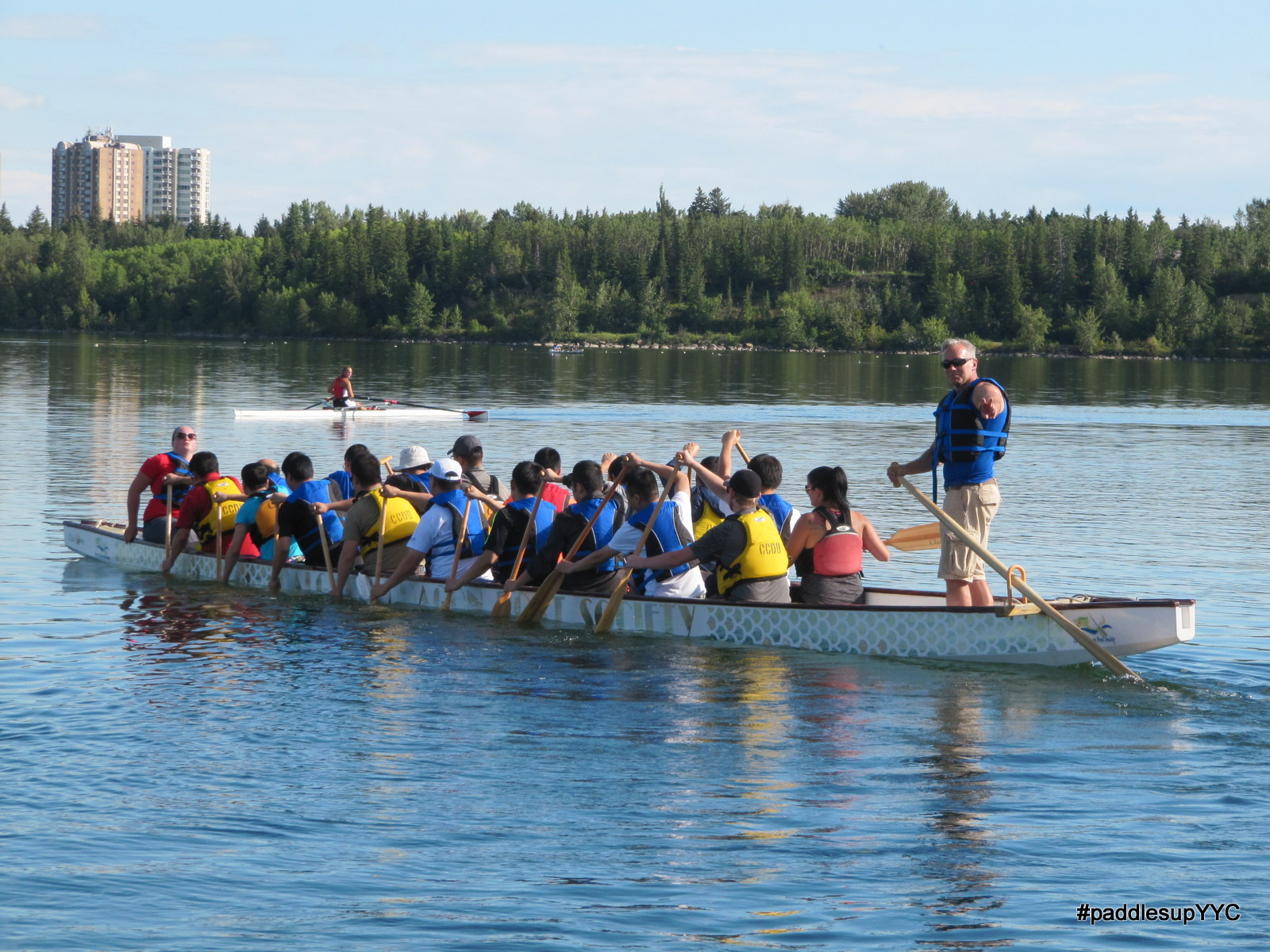LEARN TO STEER a Dragon Boat tomorrow!
