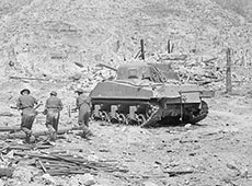 1944 Sherman tank