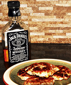 Sausuage and Jack Daniels