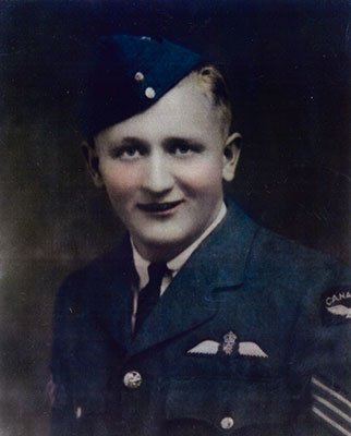 Pilot Officer Stephen Kuleski was killed along with seven members of his flight crew on May 23, 1944. He was 25 years old.