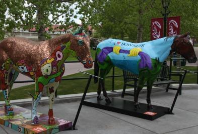 fibreglass horses