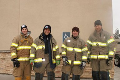 Jess firefighters