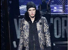 Connor on runway