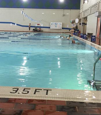 MRU swimming pool