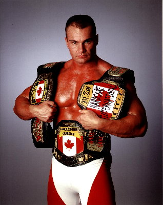 Lance Storm in his wrestling outfit