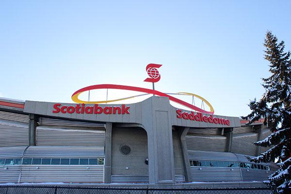 Scotiabank Sign